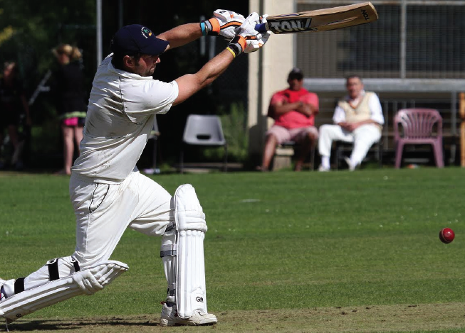 Top scoring: Ross Hardy's wickets and runs helped Kilgetty secure promotion (Pic. Susan McKehon)