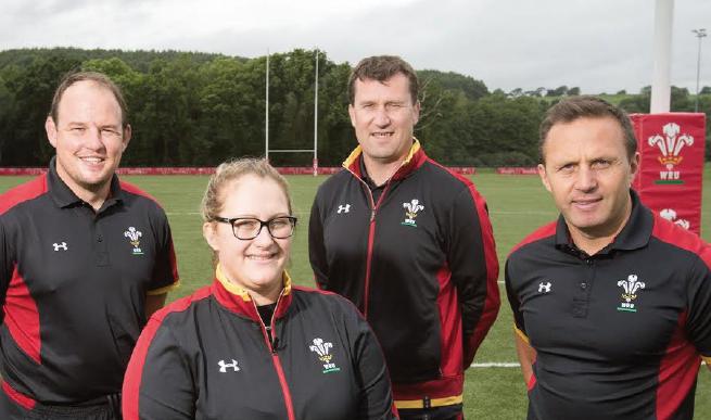 Sara Davies: New Team Manager and Coordinator of Wales Men 7s, U20 and U18
