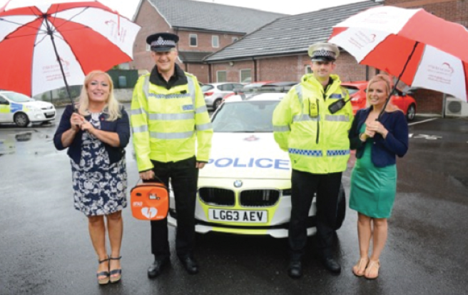 Welsh Hearts Calonnau Cymru: Aiming to get a defibrillator for each community police station