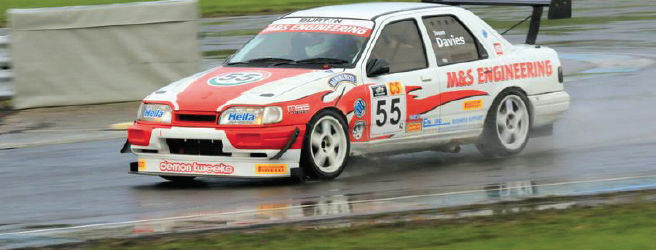 Jason: In action at Pembrey on Sunday (Pic. JD Photography)