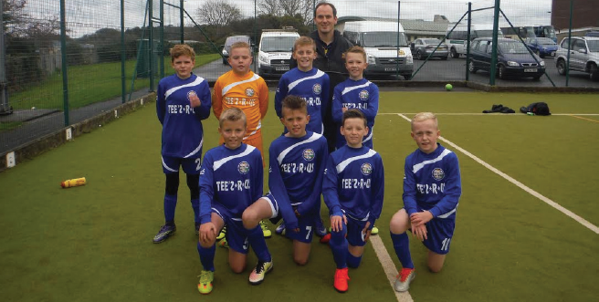 Winners: Tenby VC School will have a chance to represent Swansea City